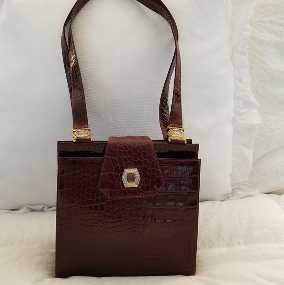 6d4431fd Rare Vintage Versace Medusa Bag